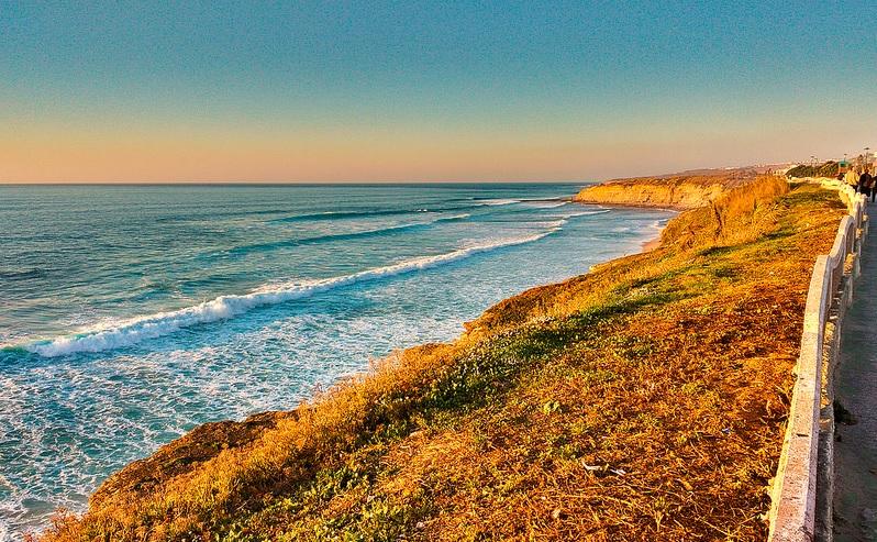 Coastline of Spain