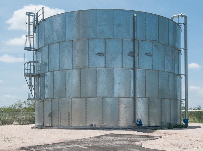 Water holding tank